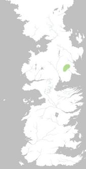 Mapa Colina Cabeza de Oveja