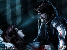 Lyanna y Ned by Amoka, Fantasy Flight Games©