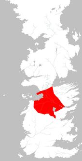 Mapa Tierras de los Ríos extensión