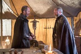 Stannis Davos campamento HBO