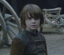 Benjen Stark joven HBO
