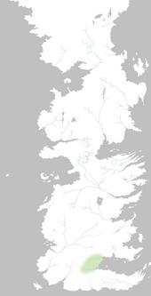 Mapa Montañas Rojas