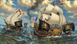 Naval Superiority by Lukasz Jaskolski, Fantasy Flight Games©