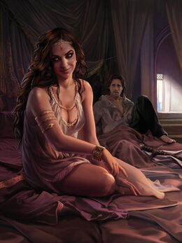 Arianne Martell by Magali Villeneuve, Fantasy Flight Games©