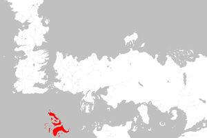 Mapa Islas del Verano