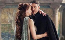 Petyr y Lysa HBO