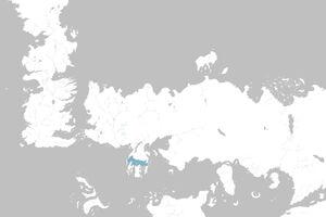 Mapa Mar Humeante