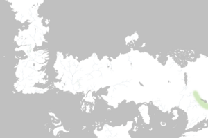 Mapa Montañas del Amanecer