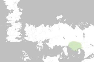 Mapa Yi Ti