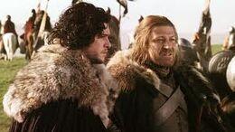 Ned y Jon Stark