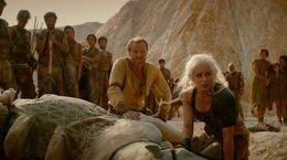 Jorah en el Desierto Rojo HBO