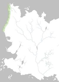 Mapa Costa Braavosi