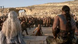 Matrimonio de Daenerys Targaryen y Khal Drogo HBO