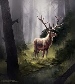 Bosque Real by Juan Carlos Barquet, Fantasy Flight Games©