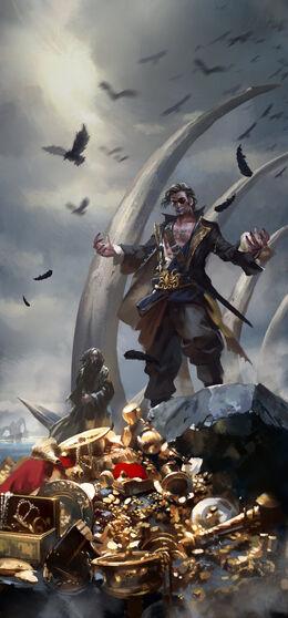 Kingsmoot Euron Greyjoy by zippo514©