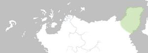 Mapa Punta Wyvern