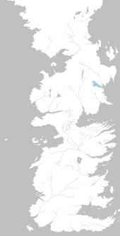 Mapa río de las Lágrimas