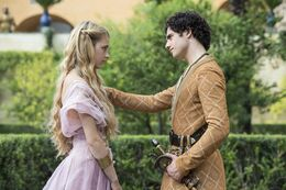 Myrcella Baratheon y Trystane Martell HBO