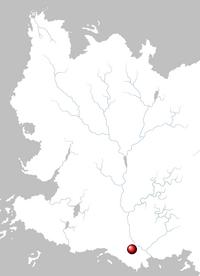 Mapa Volon Therys