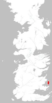 Mapa Tarth