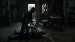 Arya mata a Polliver HBO