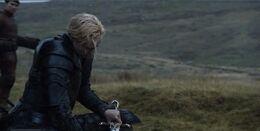 Brienne frustrada HBO