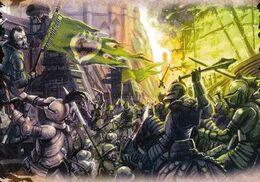 Batalla del Aguasnegras by Jonathan Standing, Fantasy Flight Games©
