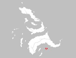 Mapa Los Huesos