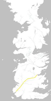 Mapa Camino de las Rosas