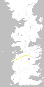Mapa Camino del Río