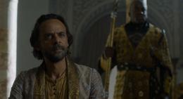Doran Martell y Areo Hotah HBO