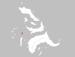 Mapa Isla del Amor