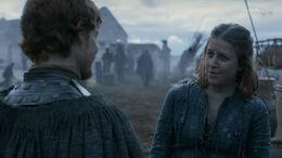 Theon se encuentra con Asha HBO