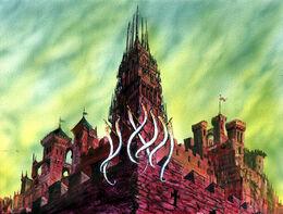 Torre de la Espada Blanca by Franz Miklis, Fantasy Flight Games©