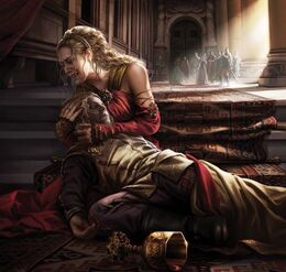 Joffrey death by Magali Villeneuve©