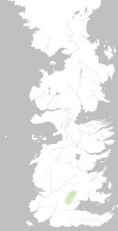 Mapa Marcas de Dorne