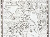Juego de Tronos-Mapa El Norte
