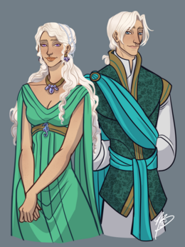 Laenor and Laena by Naomi©