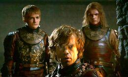 Joffrey Tyrion y Lancel HBO