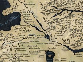 Mapa Tierras de los Ríos