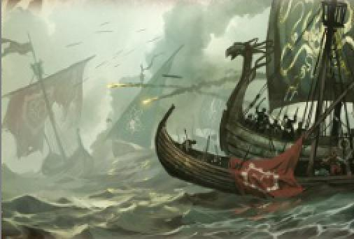Archivo:Battle for the Shield Islands by Tomasz Jedruzek, Fantasy Flight Games©.jpg
