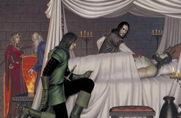 Robert deathbead by Chris Dien, Fantasy Flight Games©