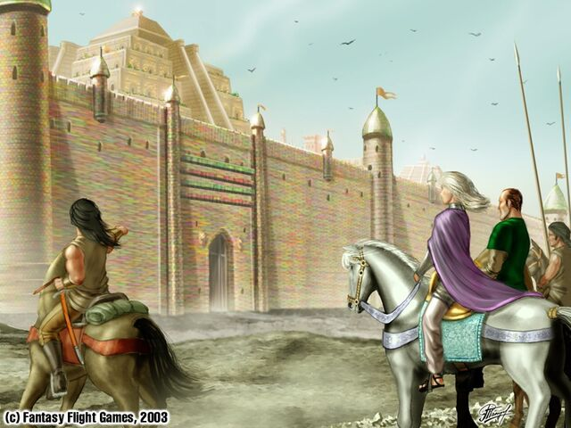 Archivo:Daenerys ante las murallas de Meereen by Amoka©.jpg