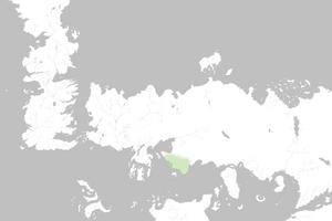 Mapa Ghiscar