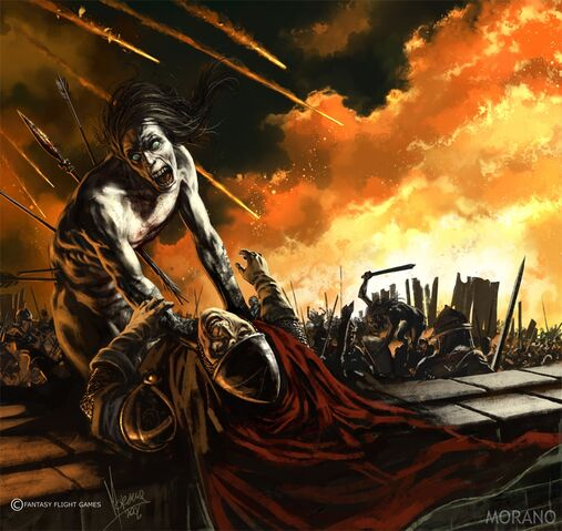 Archivo:Wights attack the First Men by Tomasz Jedruzek, Fantasy Flight Games©.jpg