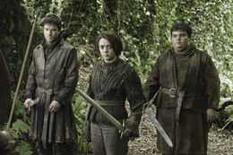 Gendry Pastel Arya HBO