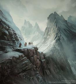 Mountains of the Moon by Juan Carlos Barquet, Fantasy Flight Games©