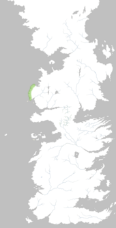 Mapa Costa Pedregosa