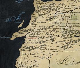 Mapa El Occidente
