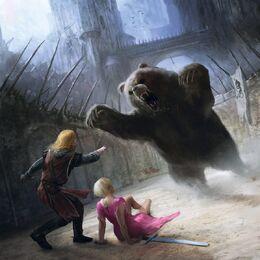 Jaime rescata a Brienne by Marc Simonetti©
